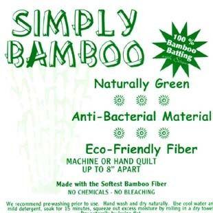 Bild av Bambu vadd 100% ca 250 cm bred