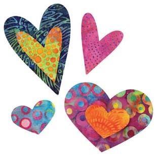Bild av Accuquilt Queen of hearts 55325