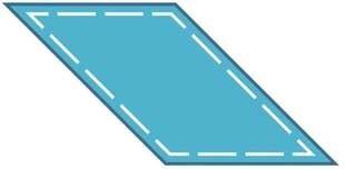 Bild av Accuquilt Parallelogram 55004