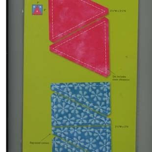 Bild av Accuquilt Triangles in square 55027