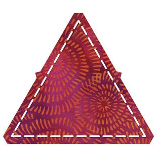 "Bild av Accuquilt Equilateral triangle-4 1/2"" sides 55429"