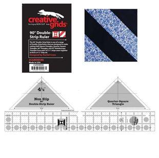 Bild av Creative Grids 90 Degree Double-Strip Ruler