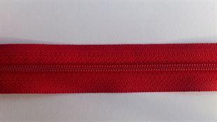 Bild av Dragkedja 4 mm klarröd
