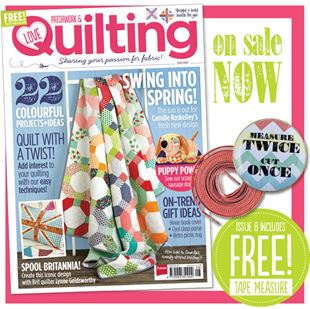 Bild av Love Patchwork and Quilting prenumeration