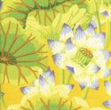 Bild på GP93 Lake Blossoms Yellow Kaffe Fassett
