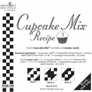 Bild av Cupcake Mix Recipe 1 for Charmpack