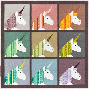 Bild av Lisa the Unicorn a pattern By Elizabeth Hartman