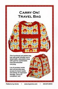 Bild av Carry On! Travel Bag By Annie