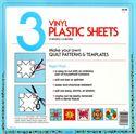 Bild på 3 Vinyl Plastic Sheets Mallplast Template