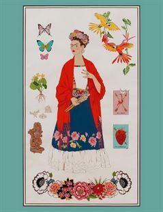 Bild av L' Artista Con Alma Frida Kahlo Panel
