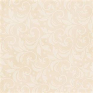 Bild av Ivory Vintage Scroll 108in Wide Back