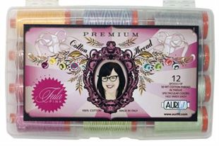 Bild av Tula Pink Premium Collection 12 Large Spools 50wt Cotton