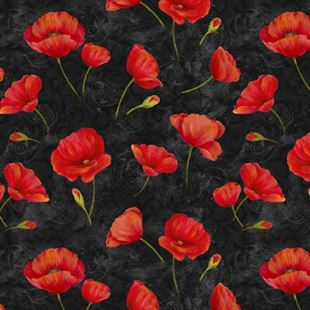 Bild av Black Poppy Scarlet Dance 42430-937