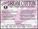 """Bild på Quilters Dream Batting  Cotton Select Size 93"""" x 72"""""""