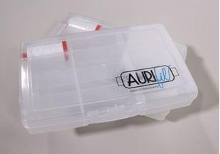Bild av Aurifil Box inkl en Aurifiltråd 2024 White 50/2, 1300 meter trådbox bomullstråd