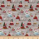 Bild på STOF France LeQuilt Merry Multi Fabric 0589539