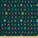 Bild på STOF France French Fantaisy Scarab Multicolor Fabric 0589562