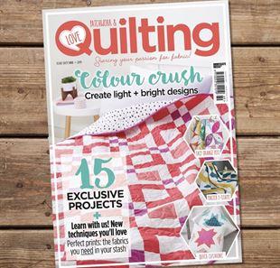 Bild av Love Patchwork and Quilting Issue 69