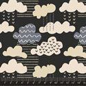 Bild på Confetti from the sky EB10011-02 Black