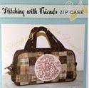 Bild på Stitching with Friends The Birdhouse Patchwork Designs