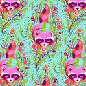 Bild på Tula Pink All Stars Raccoon - Poppy