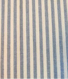 Bild av Engholms metervara i återvunnen bomull - Blå
