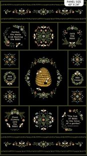 Bild av Bee Kind 23783-99 Panel by Jade Mosinski