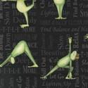 Bild på Back in 5 Minutes by Janet White groda som har yoga