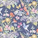 Bild på Gardenlife Tilda fabrics Bird Floral Blue 100318