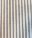 Bild på Engholms metervara i återvunnen bomull - Blå bred rand