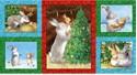 Bild på 9594.MULTI Multi Hugs & Kisses Panel Grandma's Christmas Wish by Sleeping Bear Press Collection
