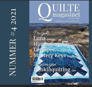 Bild av Quiltmagasinet nr 4 2021